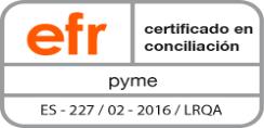 Certificación EFR metodología 3