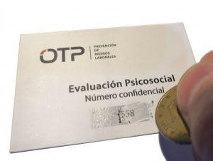 Número secreto evaluación psicosocial