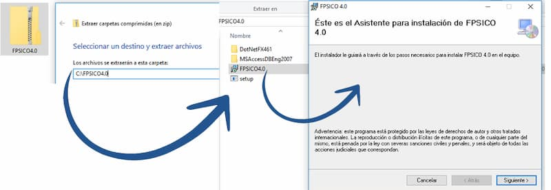 Cómo instalar el FPSICO 4.0 - Tutorial FPSICO4.0