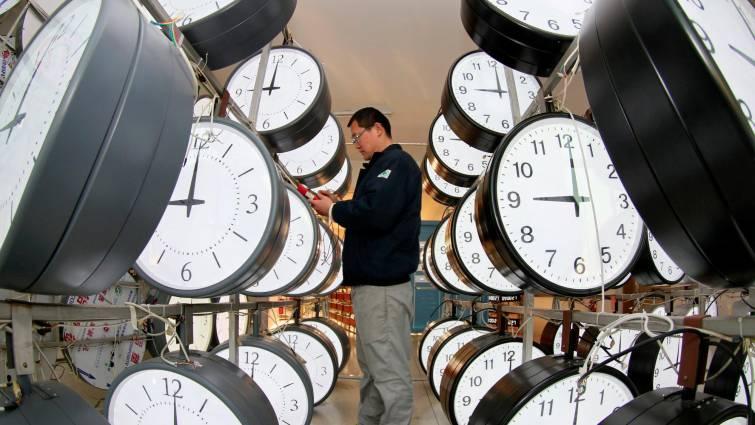 El control horario