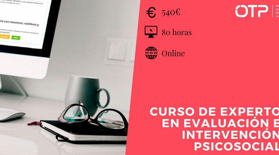 Experto en Evaluación e Intervención Psicosocial