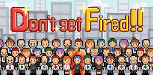 portada del juego don't get fired¡¡ (que no te despidan)