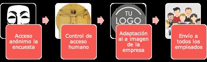 Encuestas psicosociales online: forma de trabajar