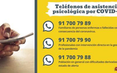 Los 3 motivos por los que se crean los teléfonos de asistencia psicológica por COVID-19
