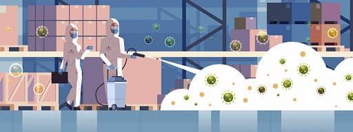 ozono como desinfectante para ambientes de coronavirus - covid19