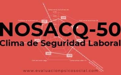 NOSACQ-50 y la evaluación de la cultura preventiva