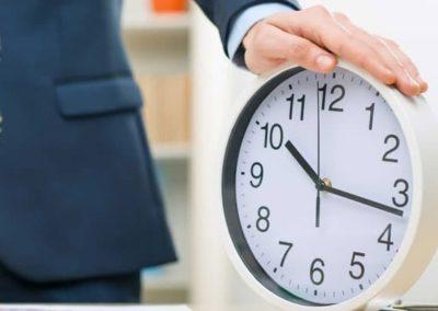 Taller de gestión del tiempo
